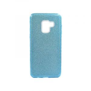 Θήκη Samsung Galaxy A5 / A8 2018 Glitter Γαλάζιο