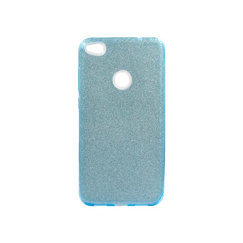 Θήκη Huawei P8 Lite 2017 / P9 Lite 2017 Glitter Γαλάζιο