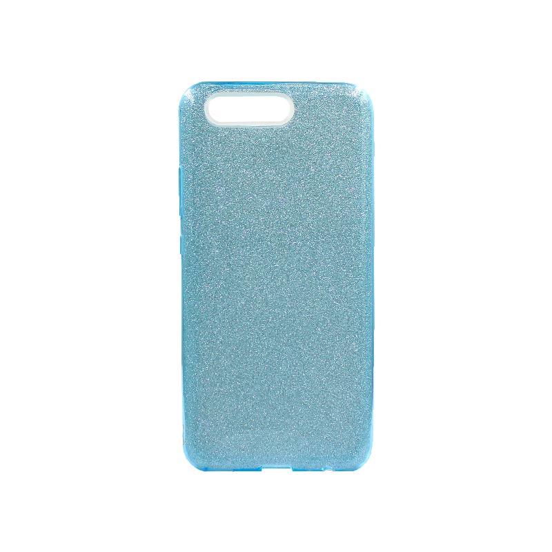 Θήκη Huawei P10 Glitter Γαλάζιο