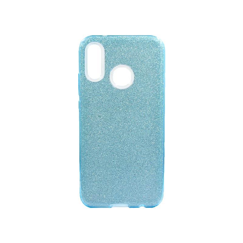 Θήκη Huawei P20 Lite Glitter Γαλάζιο