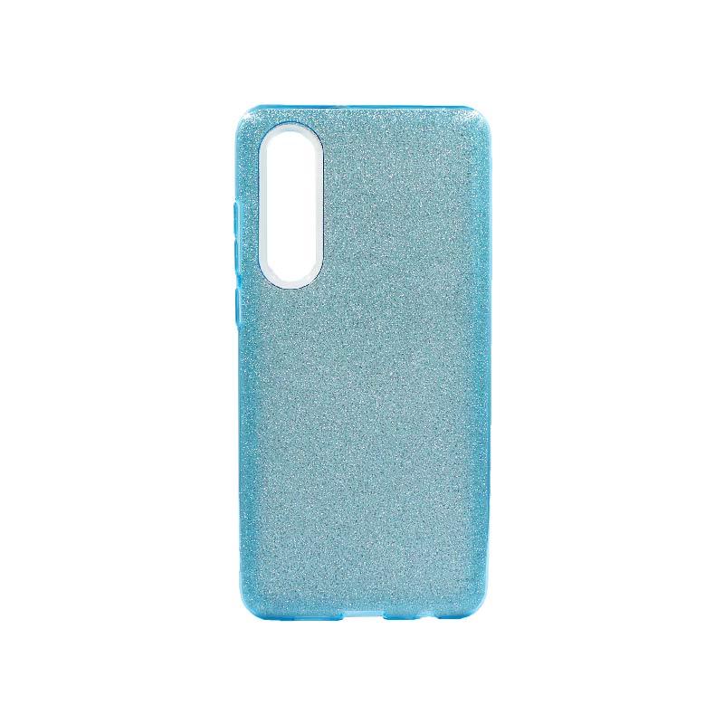 Θήκη Huawei P30 Glitter Γαλάζιο