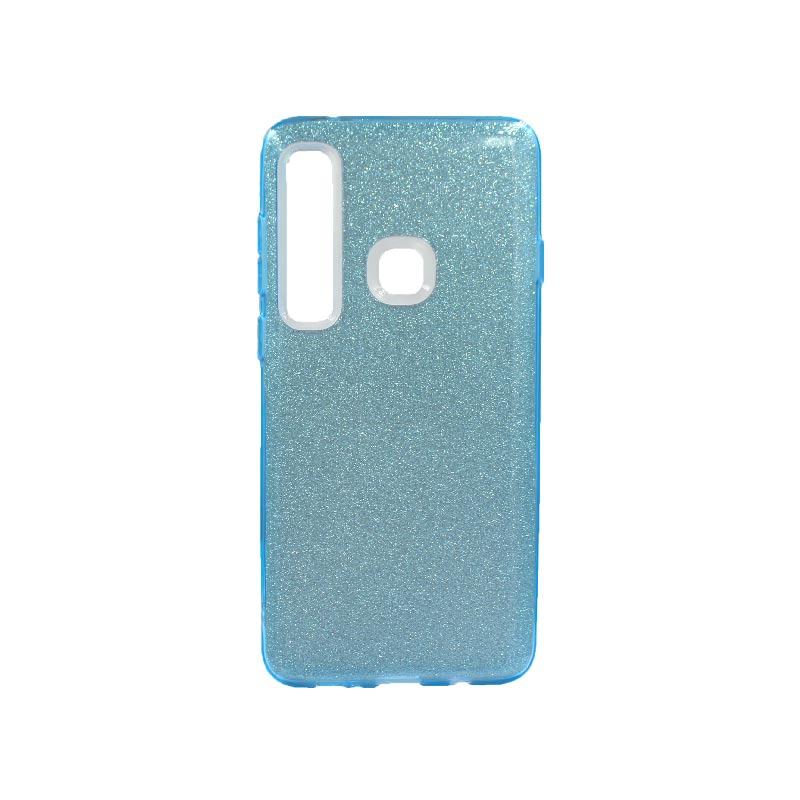 Θήκη Samsung Galaxy A9 2018 Glitter Γαλάζιο