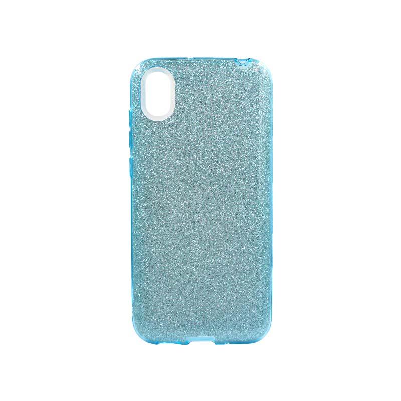 Θήκη Huawei Y5 2019 Glitter Γαλάζιο