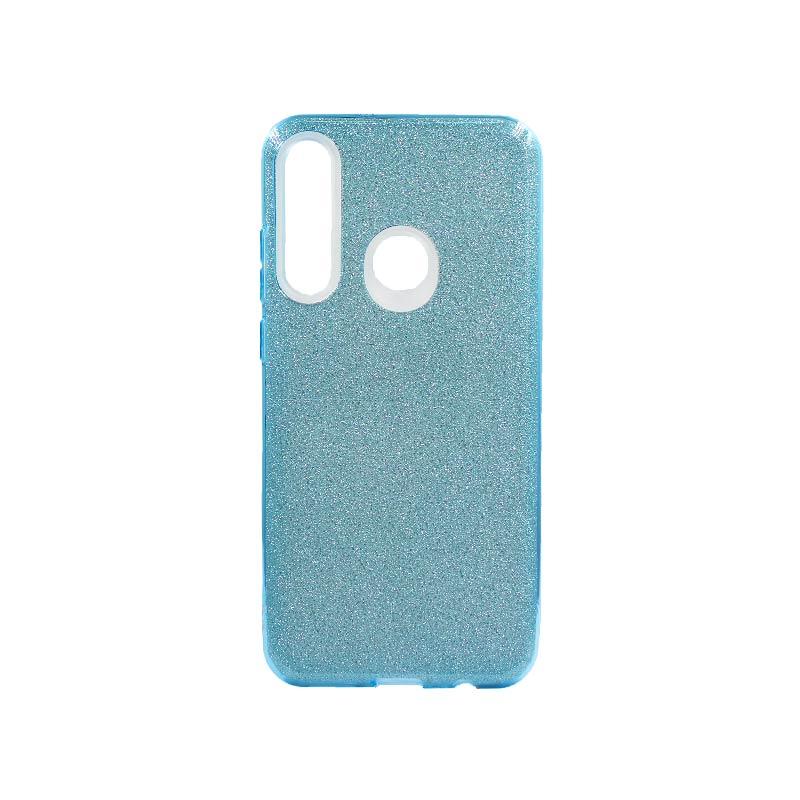 Θήκη Huawei Y6p 2020 Glitter Γαλάζιο