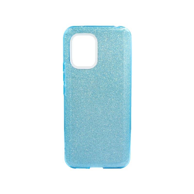 Θήκη Xiaomi Mi 10 Lite Glitter Γαλάζιο