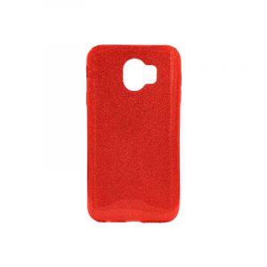 Θήκη Samsung Galaxy J4 Glitter Κόκκινο