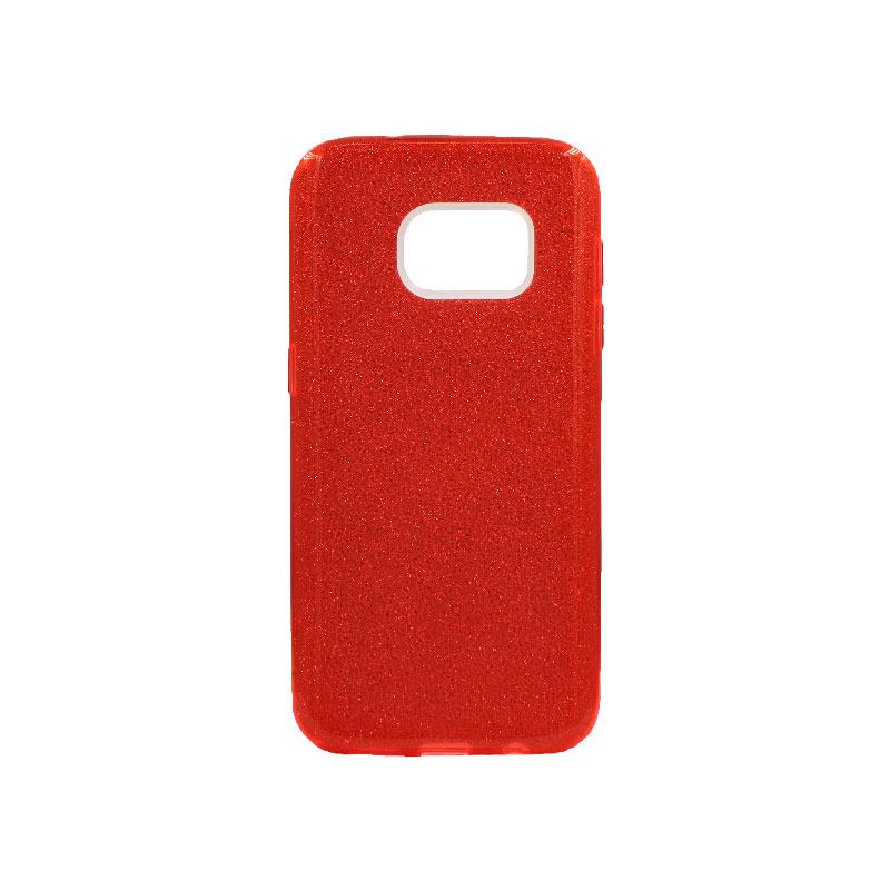 Θήκη Samsung Galaxy S7 Glitter Κόκκινο