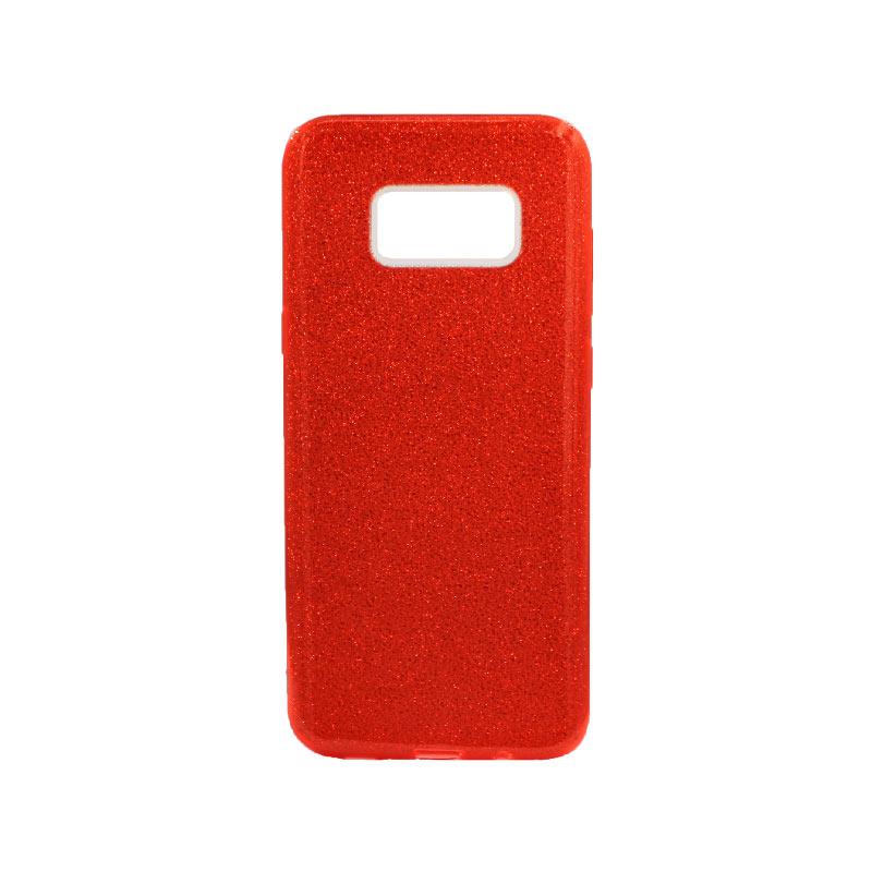 Θήκη Samsung Galaxy S8 Plus Glitter Κόκκινο
