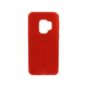 Θήκη Samsung Galaxy S9 Glitter Κόκκινο