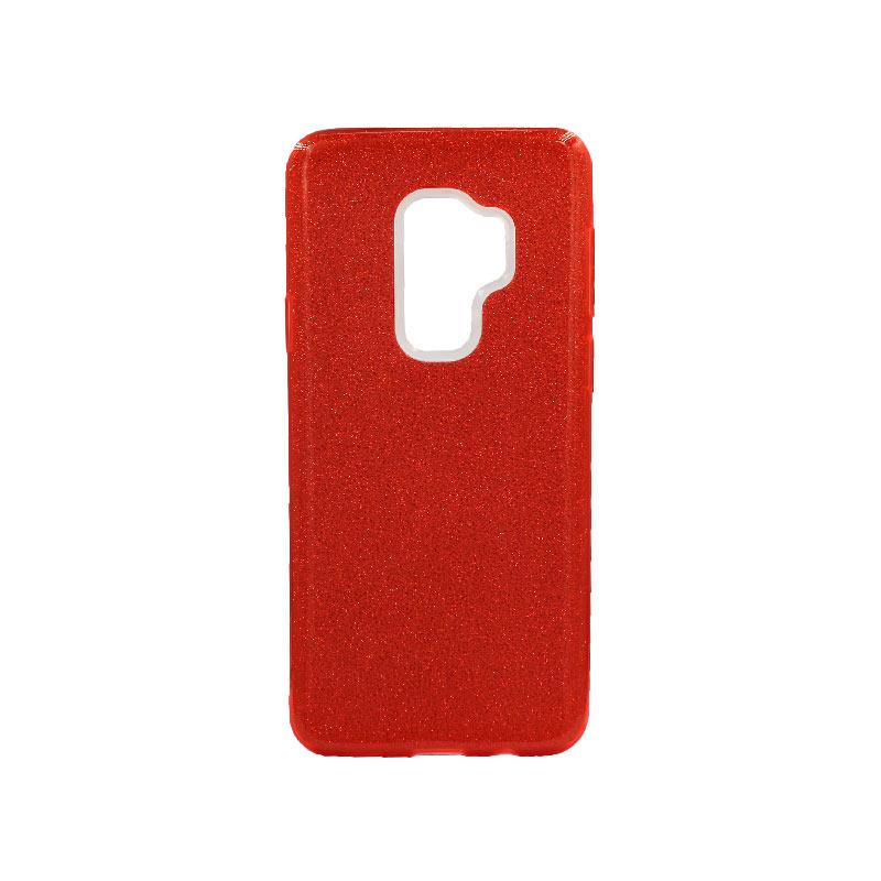 Θήκη Samsung Galaxy S9 Plus Glitter Κόκκινο