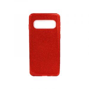 Θήκη Samsung Galaxy S10 Glitter Κόκκινο