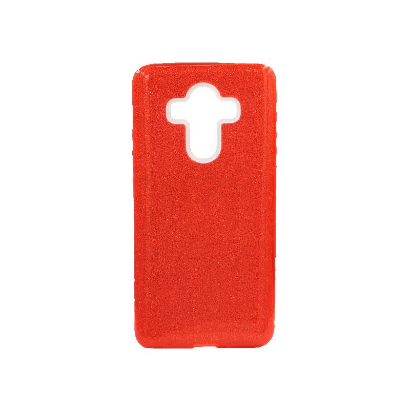 Θήκη Huawei Mate 10 Pro Glitter Κόκκινο