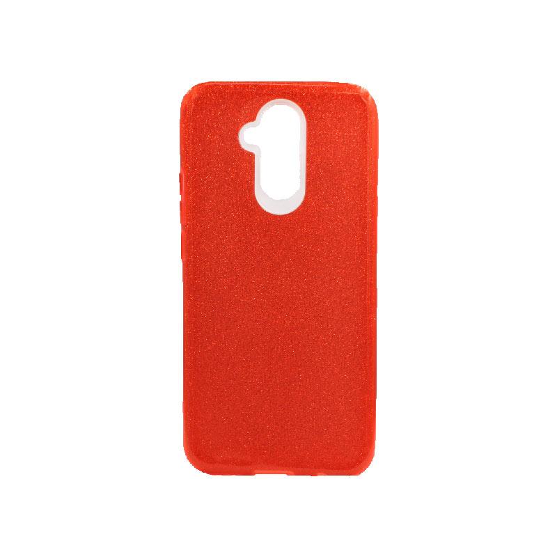 Θήκη Huawei Mate 20 Lite Glitter Κόκκινο