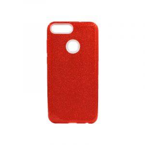 Θήκη Huawei P Smart Glitter Κόκκινο