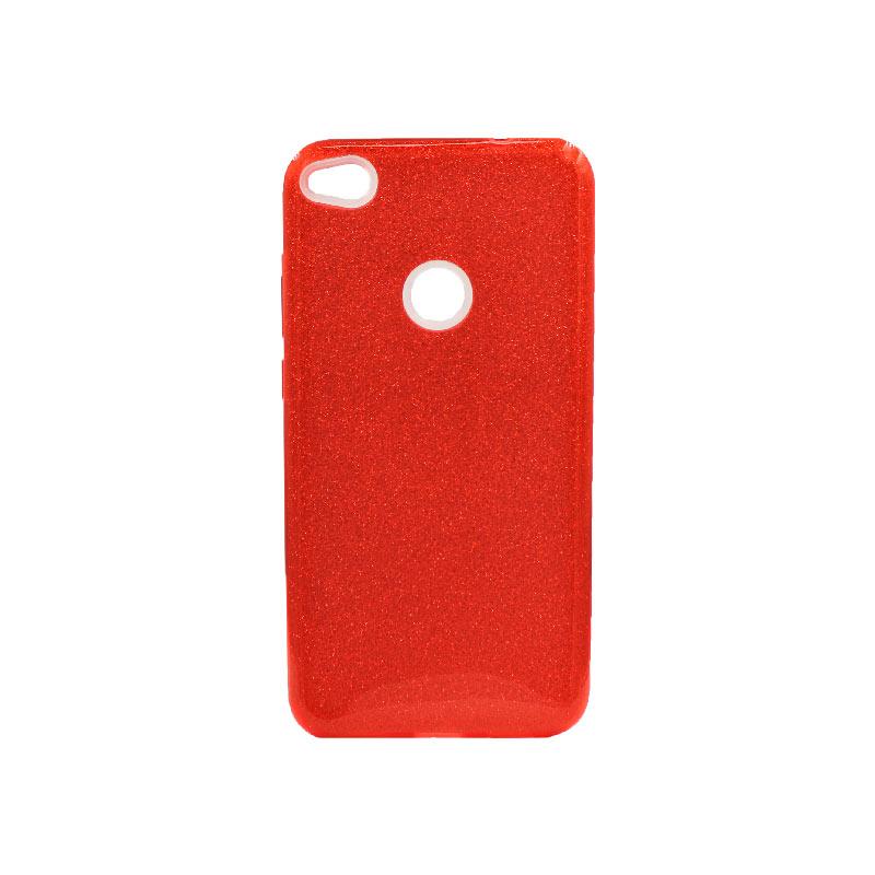 Θήκη Huawei P8 Lite 2017 / P9 Lite 2017 Glitter Κόκκινο