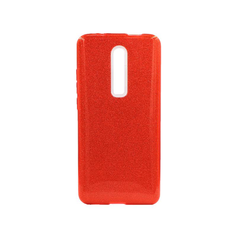 Θήκη Xiaomi Mi 9T / K20 / K20 Pro Glitter Κόκκινο