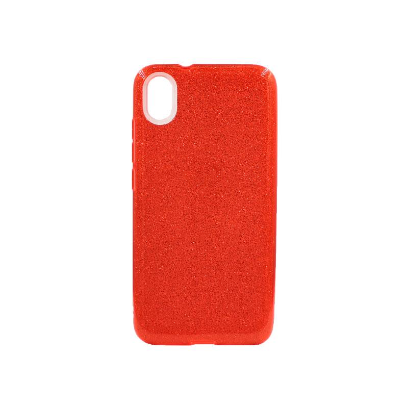 Θήκη Xiaomi Redmi 7A Glitter Κόκκινο