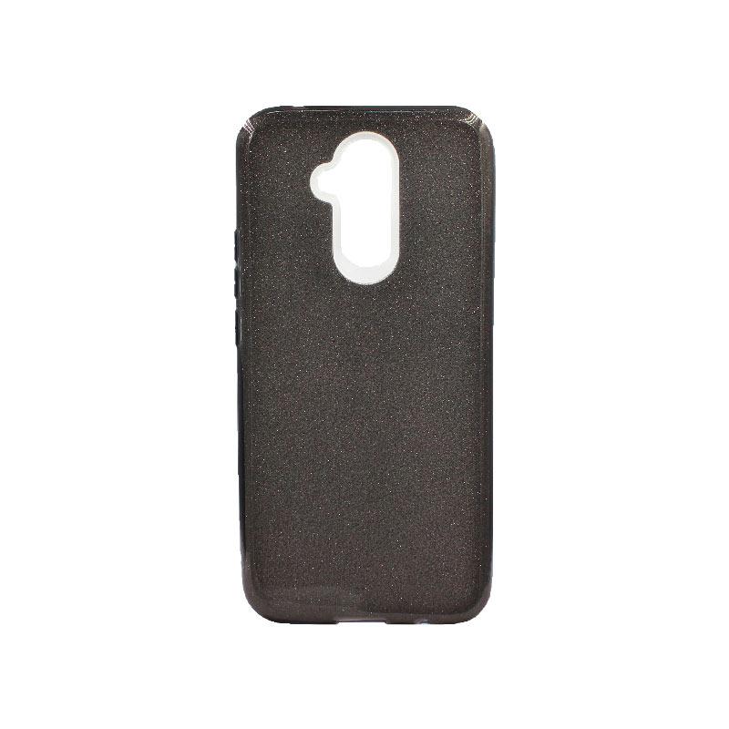 Θήκη Huawei Mate 20 Lite Glitter Μαύρο