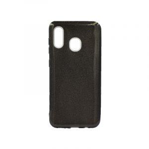 Θήκη Samsung Galaxy A20 / A30 Glitter Μαύρο
