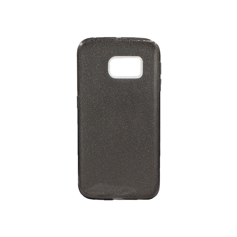 Θήκη Samsung Galaxy S6 Edge Glitter Μαύρο