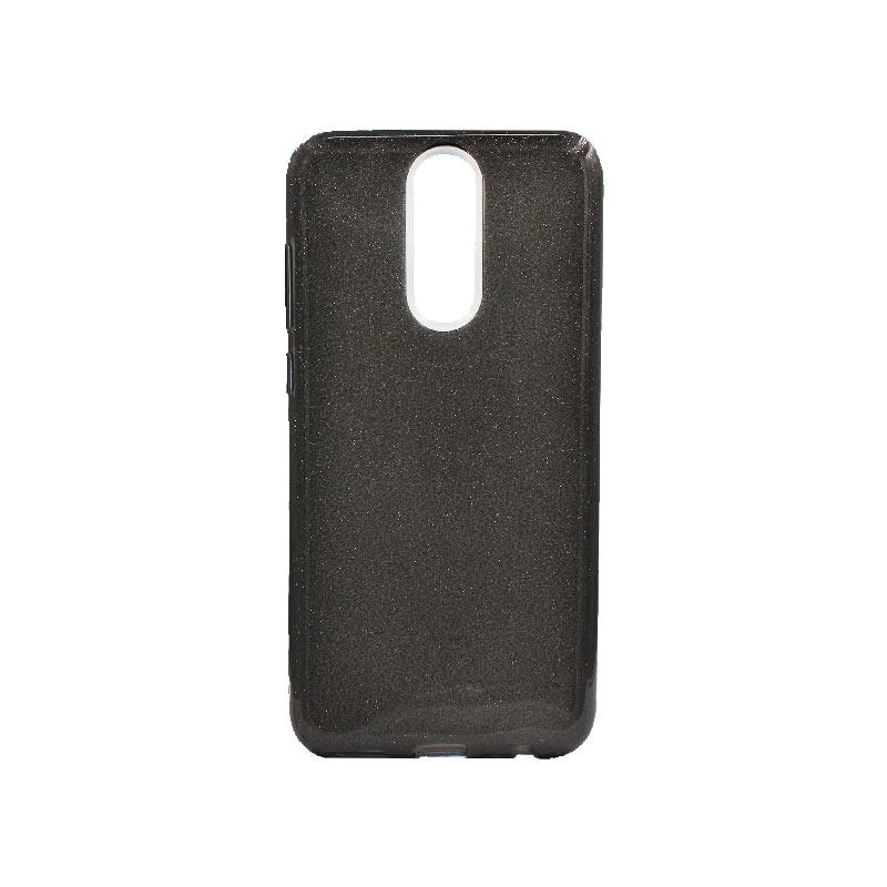 Θήκη Huawei Mate 10 Lite Glitter Μαύρο