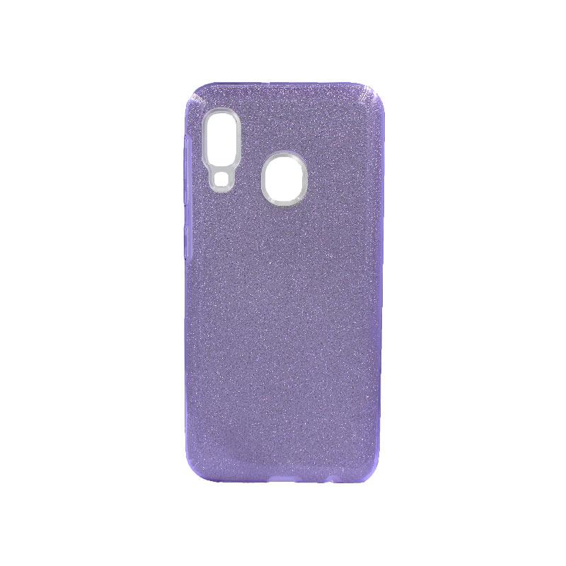 Θήκη Samsung Galaxy A10e / A20e Glitter Μωβ