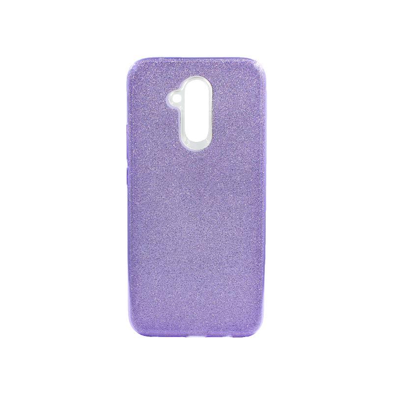Θήκη Huawei Mate 20 Lite Glitter Μωβ