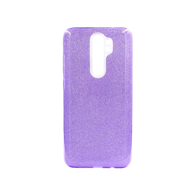 Θήκη Xiaomi Redmi Note 8 Pro Glitter Μωβ