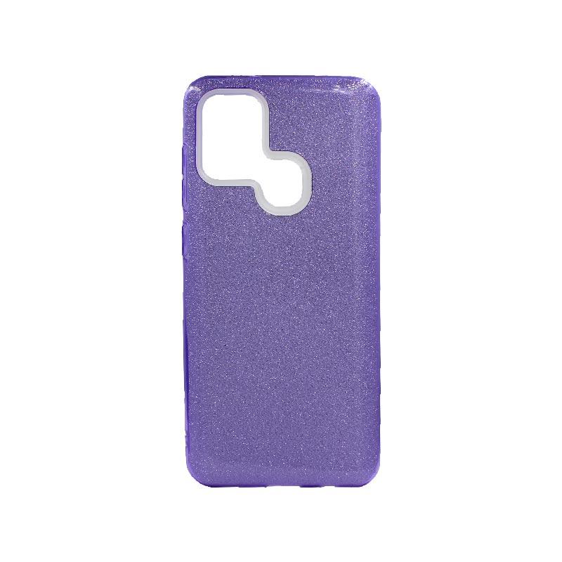 Θήκη Samsung Galaxy A21s Glitter Μωβ