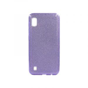 Θήκη Samsung Galaxy A10 Glitter Μωβ