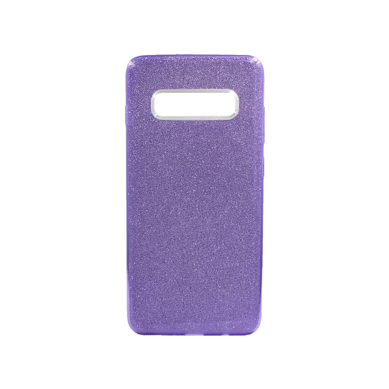 Θήκη Samsung Galaxy S10 Plus Glitter Μωβ