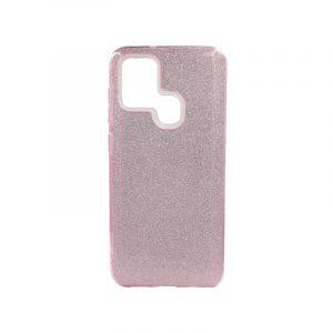 Θήκη Samsung Galaxy A21s Glitter Ροζ