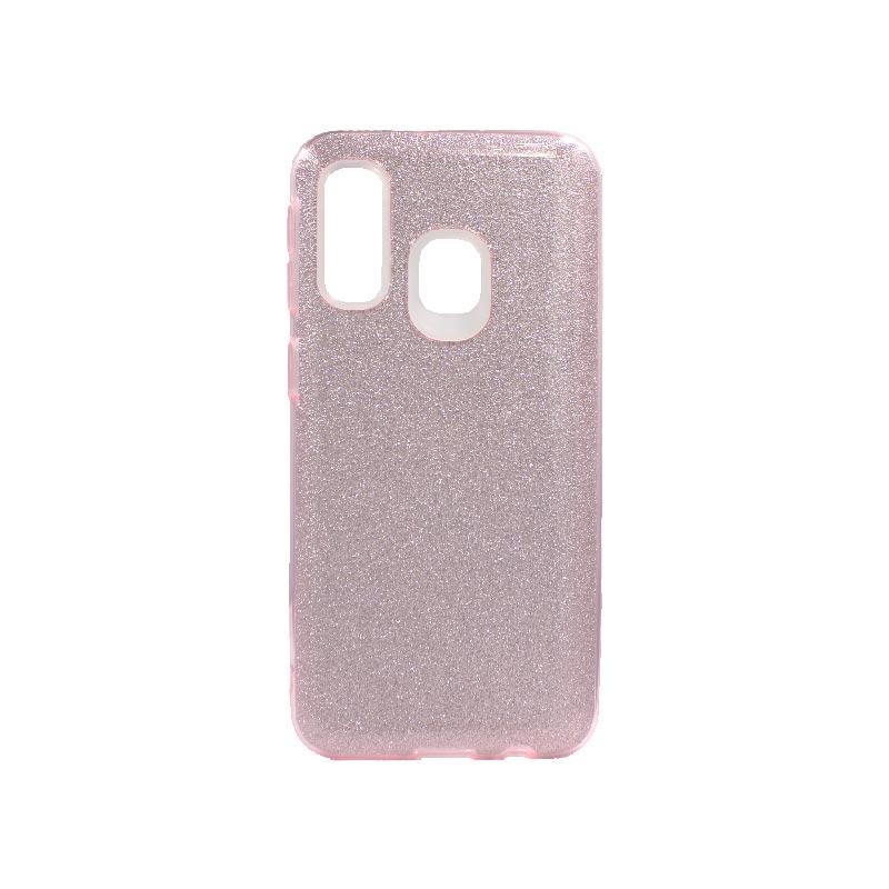 Θήκη Samsung Galaxy A40 Glitter Ροζ