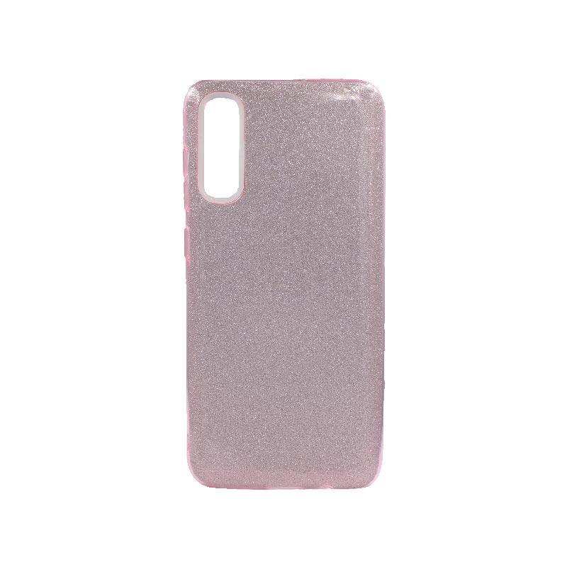 Θήκη Samsung Galaxy A70 / A70s Glitter Ροζ