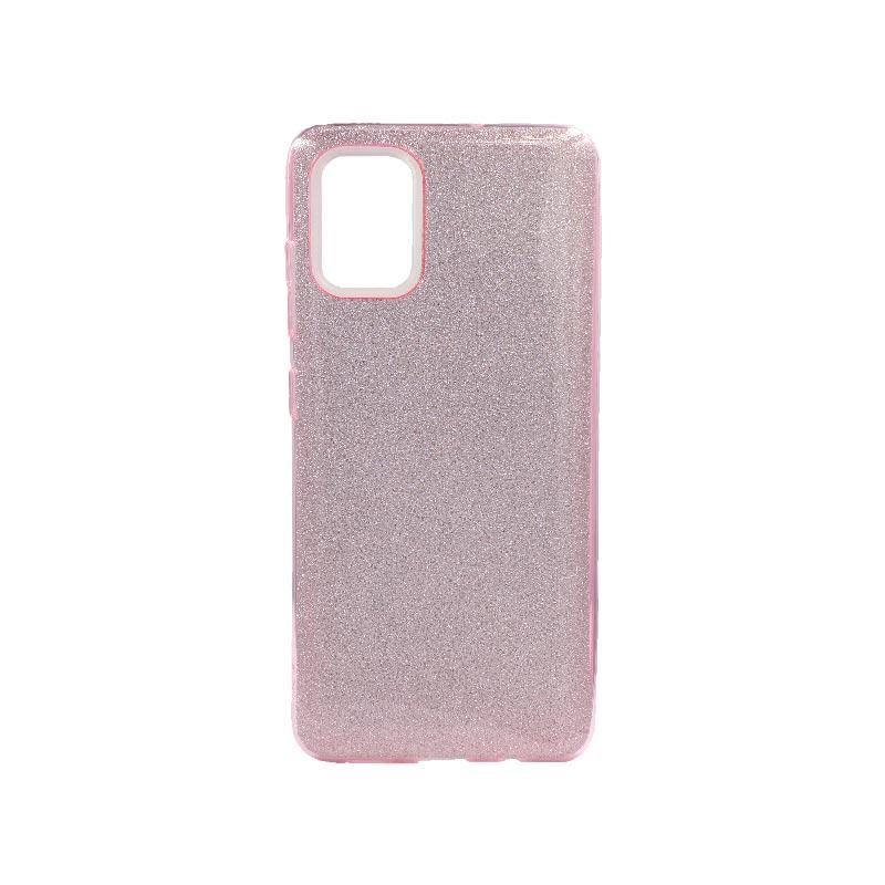 Θήκη Samsung Galaxy A71 Glitter Ροζ