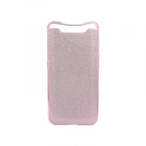 Θήκη Samsung Galaxy A80 Glitter Ροζ