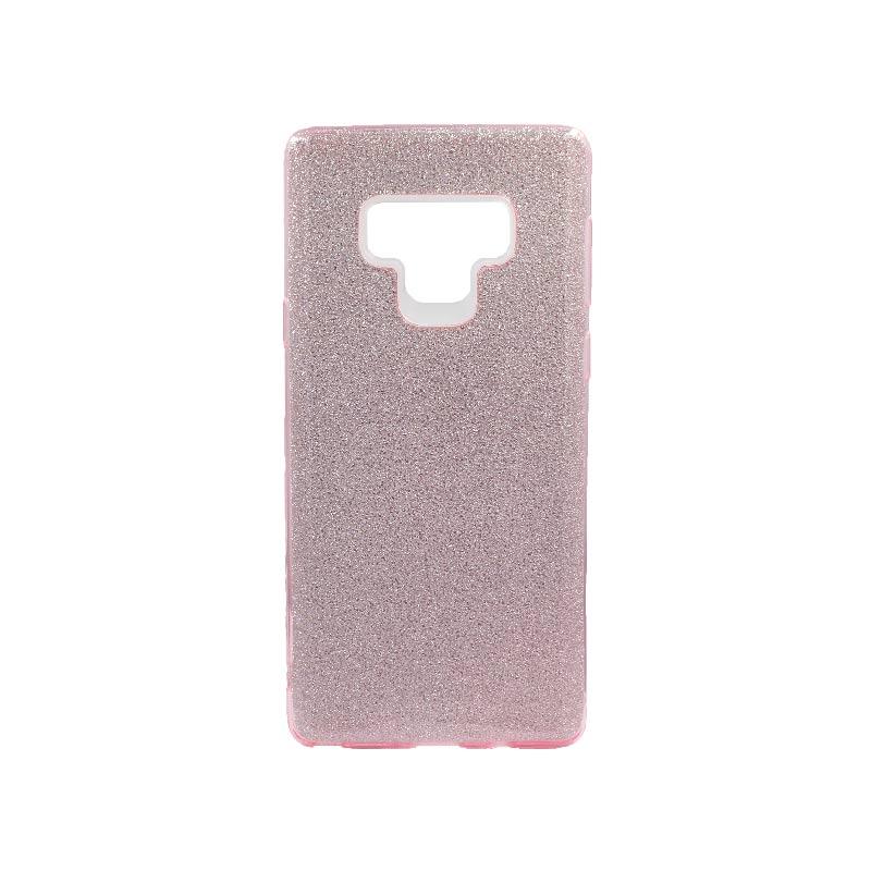 Θήκη Samsung Galaxy Note 9 Glitter Ροζ