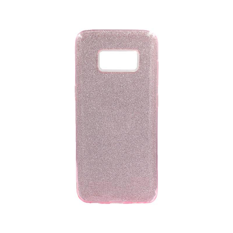 Θήκη Samsung Galaxy S8 Glitter Ροζ
