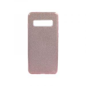 Θήκη Samsung Galaxy S10 Glitter Ροζ