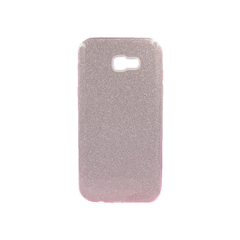 Θήκη Samsung Galaxy A7 2017 Glitter Ροζ