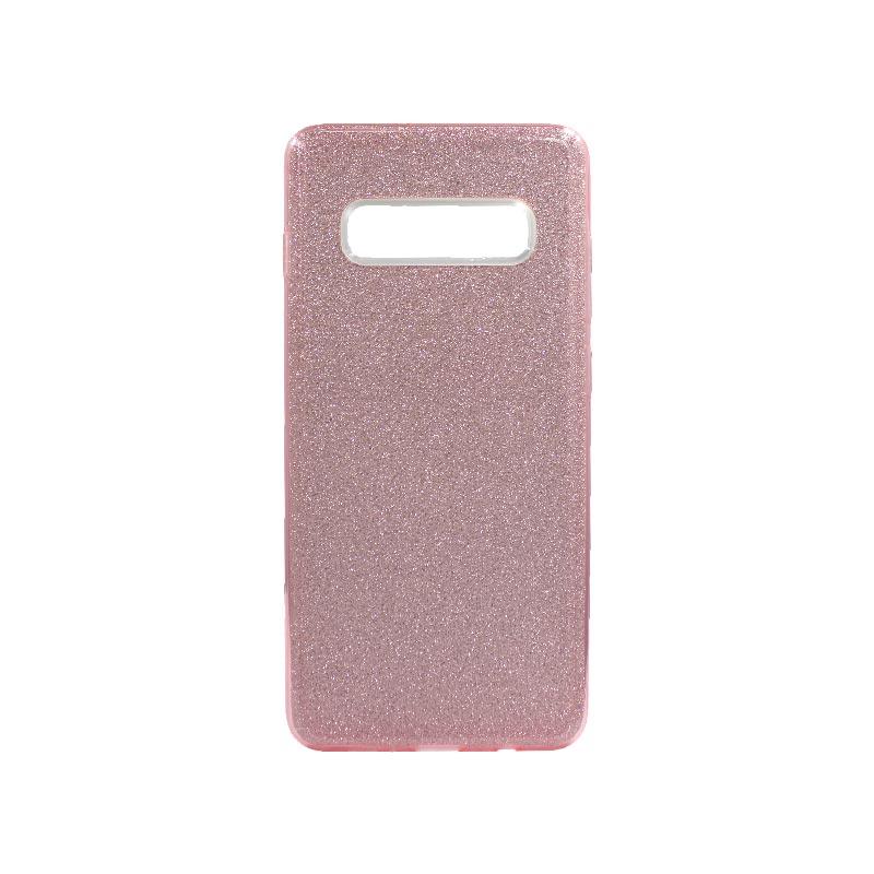 Θήκη Samsung Galaxy S10 Plus Glitter Ροζ