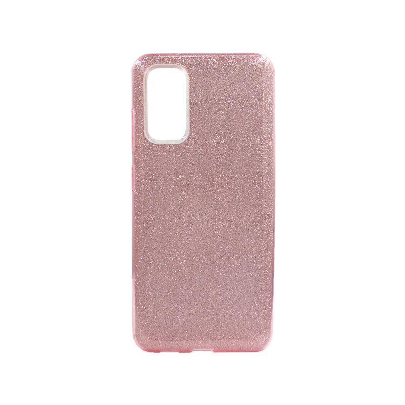 Θήκη Samsung Galaxy S20 Glitter Ροζ