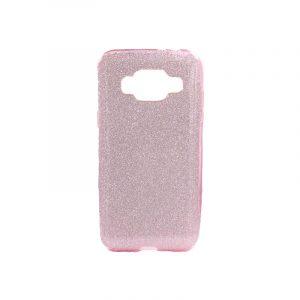 Θήκη Samsung Galaxy J3 2016 Glitter Ροζ