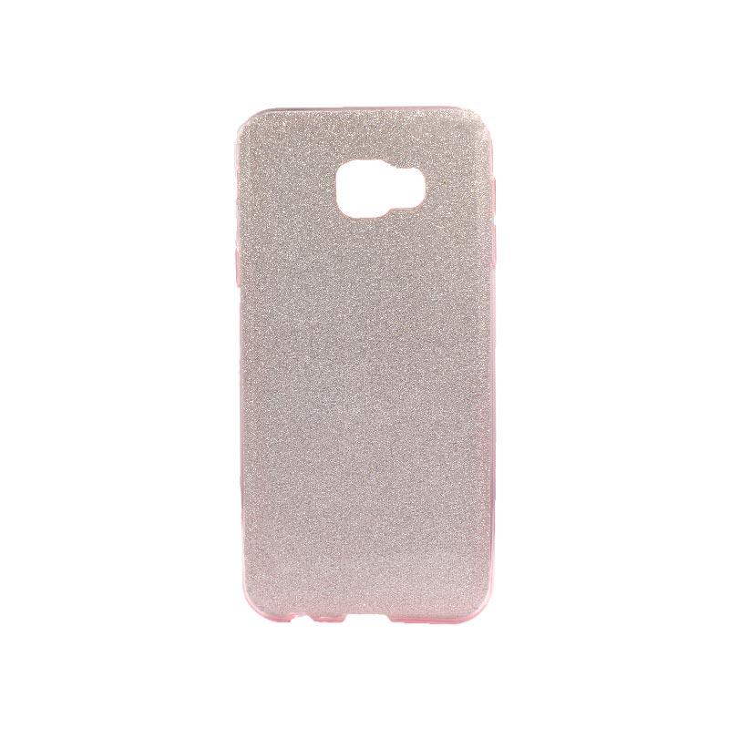 Θήκη Samsung Galaxy J4 Plus Glitter Ροζ