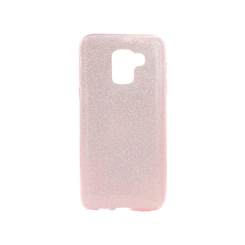 Θήκη Samsung Galaxy J6 Glitter Ροζ