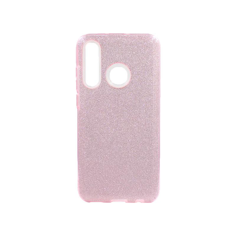 Θήκη Honor 20 Lite Glitter Ροζ