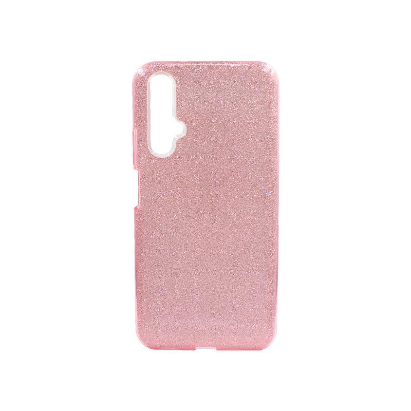 Θήκη Honor 20 / Huawei Nova 5T Glitter Ροζ