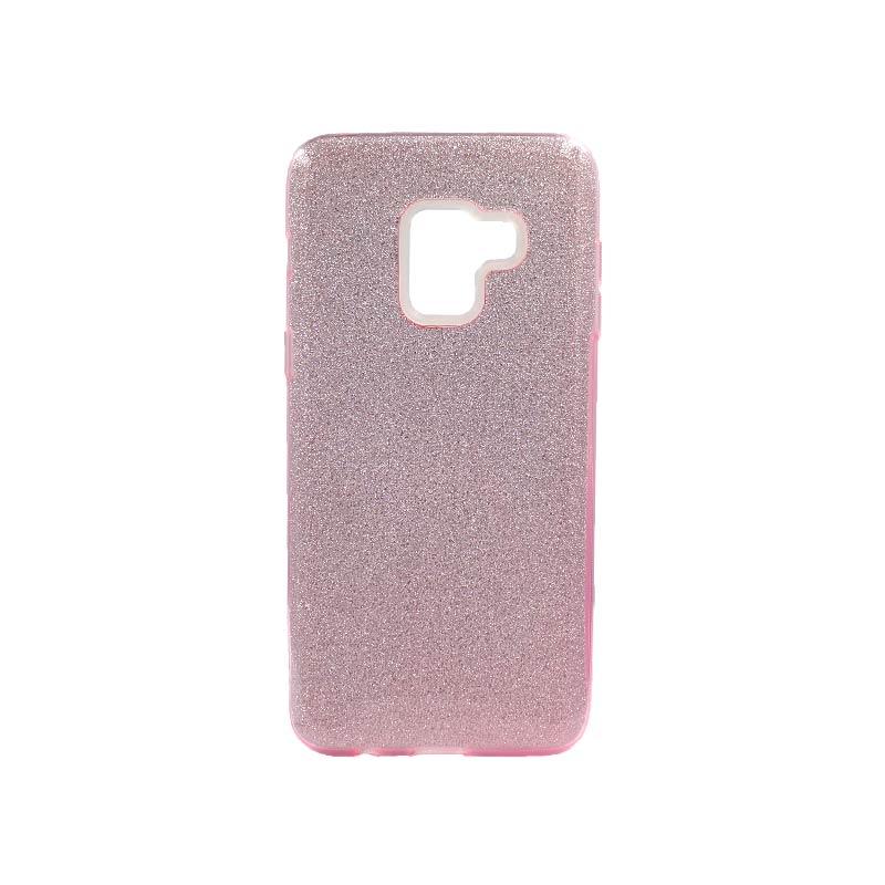 Θήκη Samsung Galaxy A5 / A8 2018 Glitter Ροζ