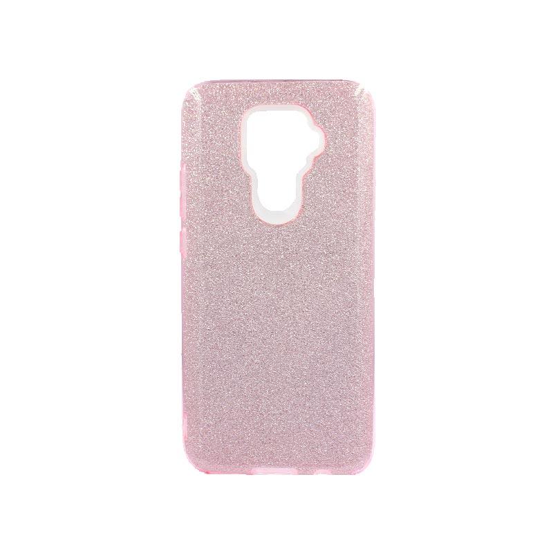 Θήκη Huawei Mate 30 Lite Glitter Ροζ