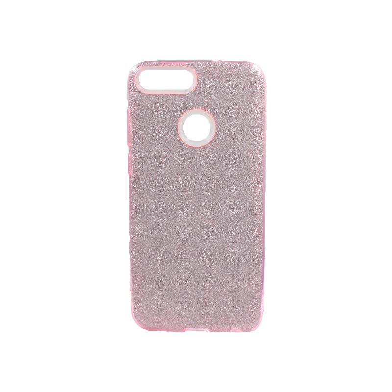 Θήκη Huawei P Smart Glitter Ροζ